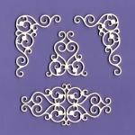 108 Tekturka - Ornamenty zestaw 7