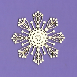 551 Tekturka - Zimowa kolekcja - Snieżynka 2 - G6