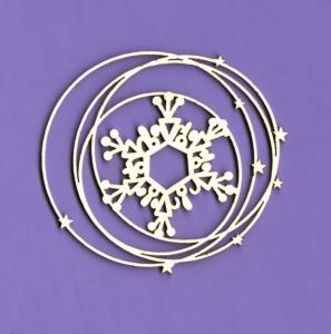 792 Tekturka - Zimowa kolekcja - Śnieżna ramka 1 - G5