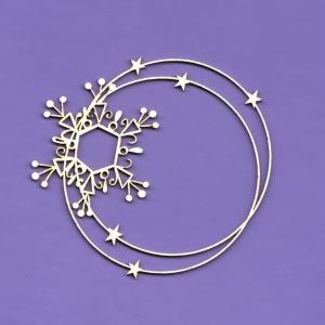 836 Tekturka - Zimowa kolekcja - Śnieżna ramka 3 - G5