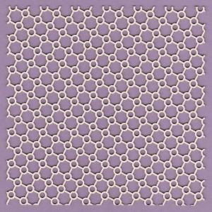 525m Panel - Atomy skośne 15 x 15 - G15