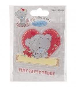 TINY TATTY TEDDY - GIRL HEART