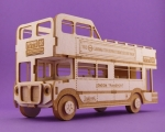 881 Tekturka - London Bus - Autobus  3D