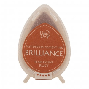 Tusz Memento Brilliance Dew Drop - Pearlescent rust