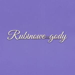 1434 Tekturka napis - Rubinowe gody G5