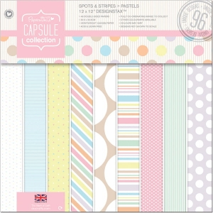PAPERMANIA SPOTS & STRIPES 6X6