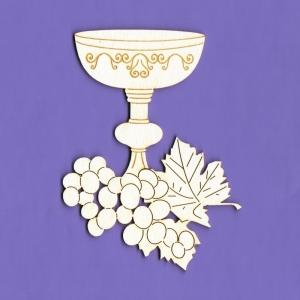 1260Tekturka  - Kielich komunijny  z winogronem G05