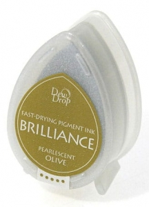Tusz Memento Brilliance Dew Drop - Pearlescent Olive