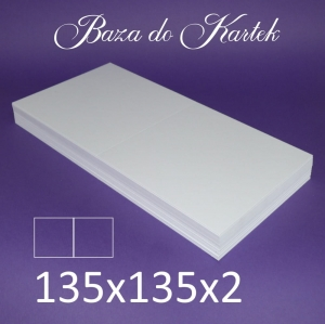 Baza do kartek - 135 x 135 mm