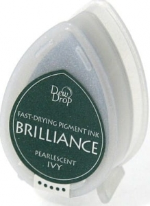 Tusz Memento Brilliance Dew Drop - Pearlescent Ivy
